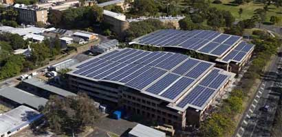 Australia's University of Queensland St Lucia Campus Solar Installation
