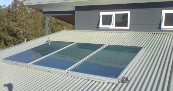 solar hot water split system