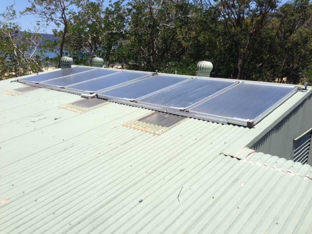 Gosford City Council LGEEP Solar Hot Water
