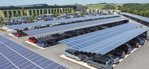 Schletter Carpark Solar Systems