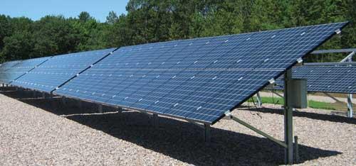 Schletter Solar Ground Mount