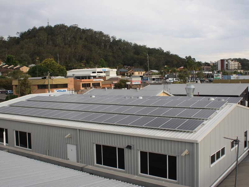 Gosford Coast Shelter Solar Power System