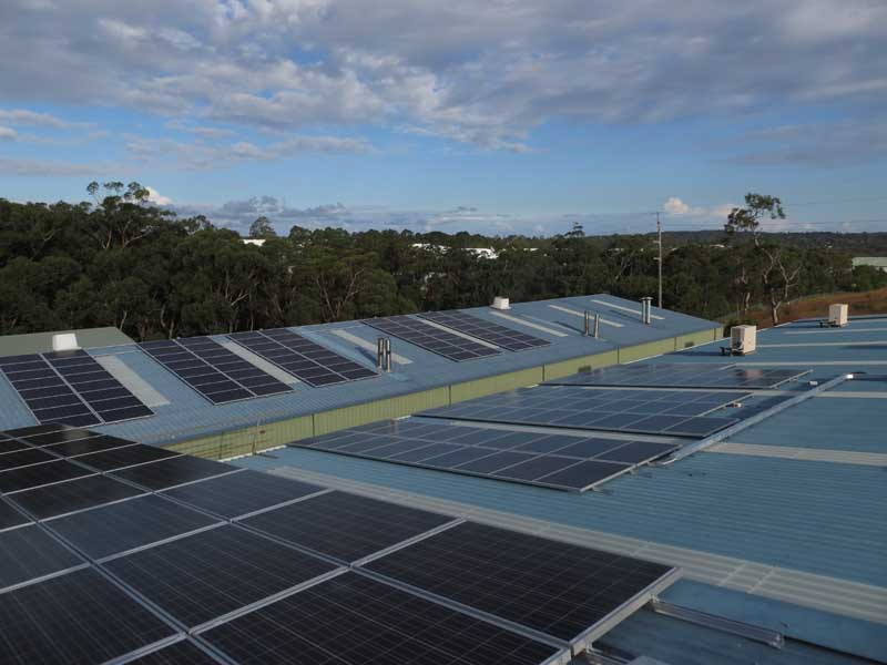 Somersby Commercial Solar Power