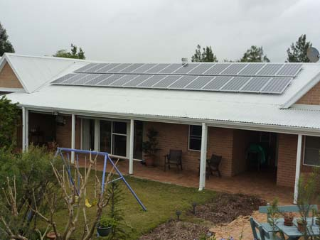 Solar Power Lambs Valley NSW
