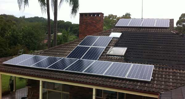 Solar Power Green Point NSW