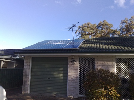 Solar Power Valentine NSW