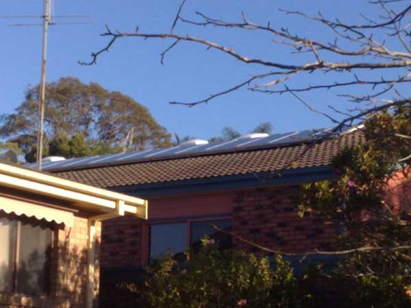 Solar Power Forresters Beach NSW