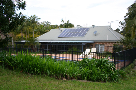 Solar Power Holgate NSW