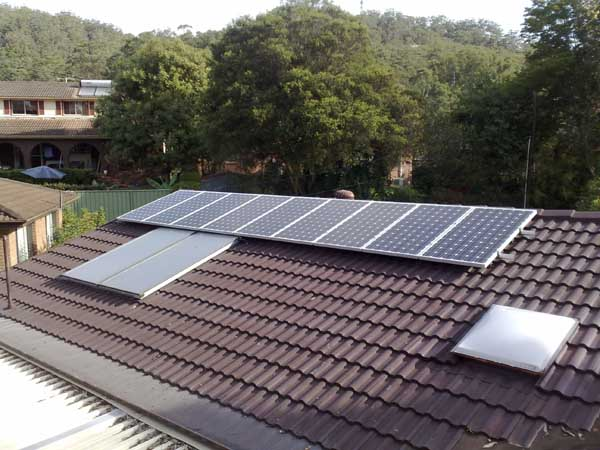 Solar Power Gosford North NSW