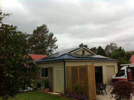 Solar Power Lorn NSW