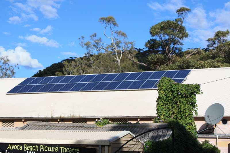 Commercial Solar Power Avoca Beach