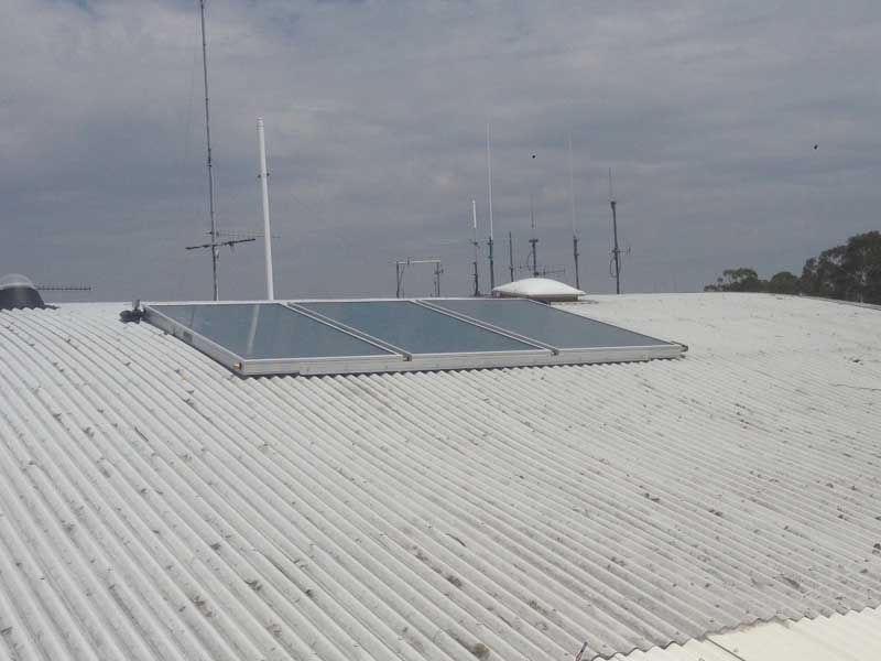 Gosford Council Fire Control Solar Hot Water