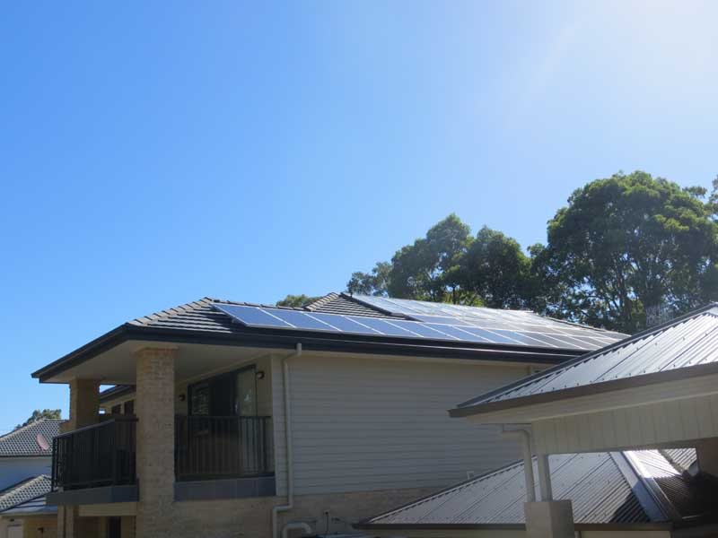Hybrid Solar Power Kotara NSW