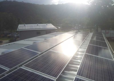 Solar Power Patonga Caravan Park Gosford Council
