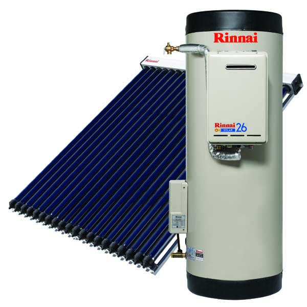 Rinnai Equinox Evacuated Tube Solar Hot Water System