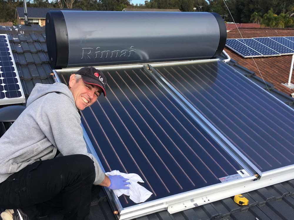 Rinnai Solar Hot Water
