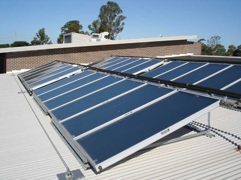 Sydney Masterton Commercial Solar Hot Water