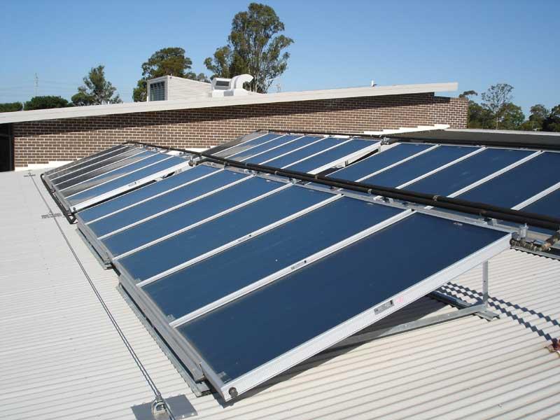 Sydney Masterton Commercial Solar Hot Water