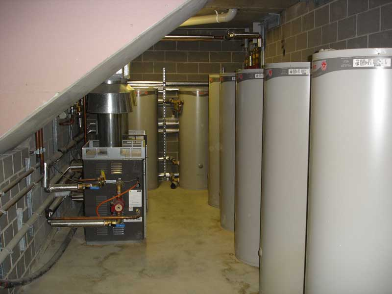 Sydney Masterton Commercial Solar Hot Water Storage