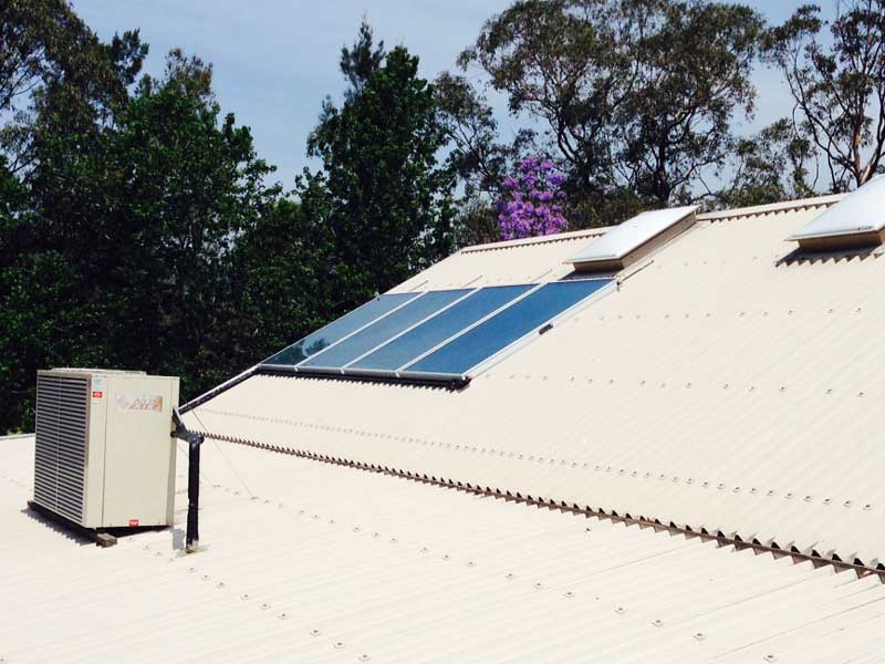 Gosford Council Terrigal Leisure Centre Solar Hot Water