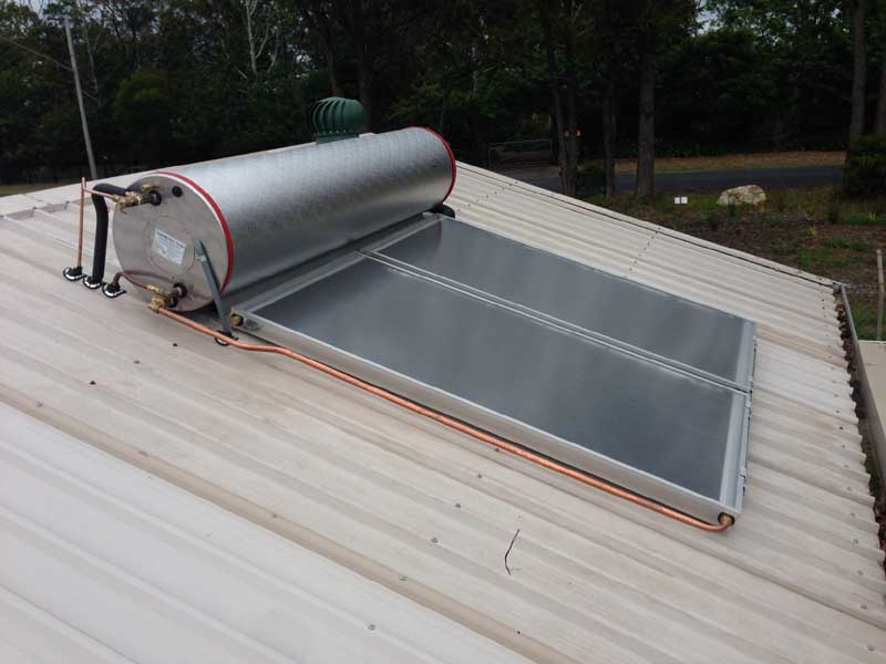 Gosford Council Mangrove Mountain Solar Hot Water
