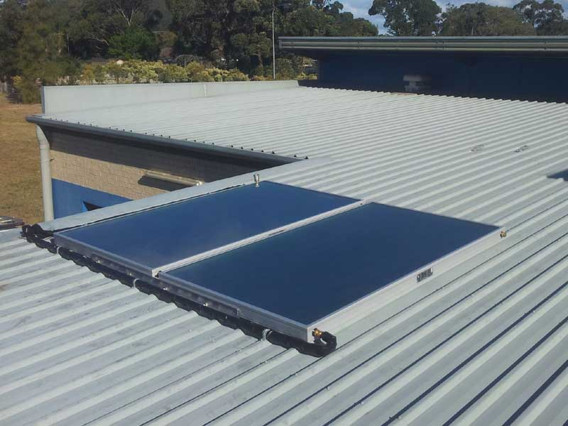 Gosford Council Peninsula Theatre Solar Hot Water