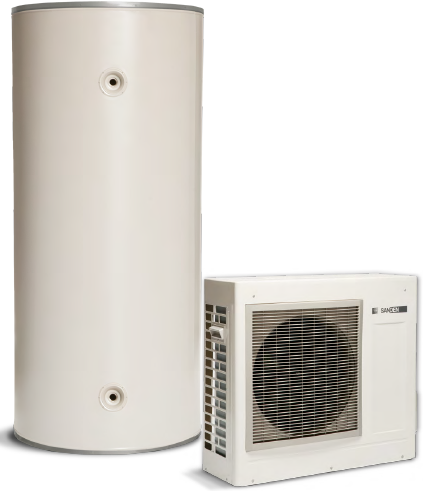 Sanden Heat Pump Hot Water System