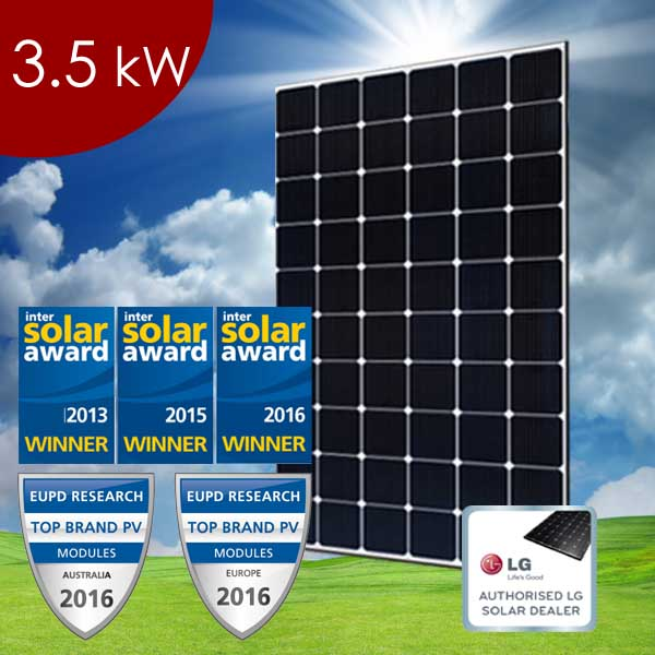 3 5 kW Residential Solar Power System - Superior Solar