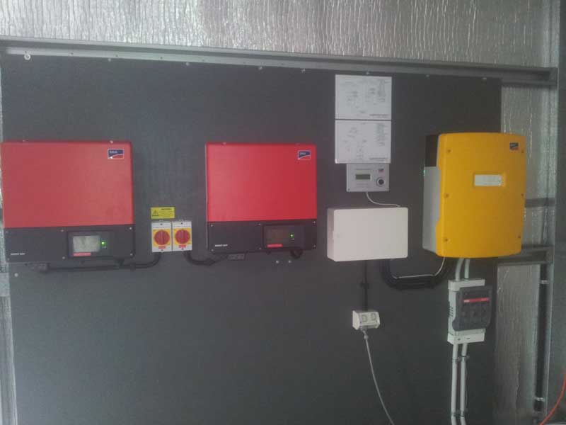 Off Grid Solar Power System Management System