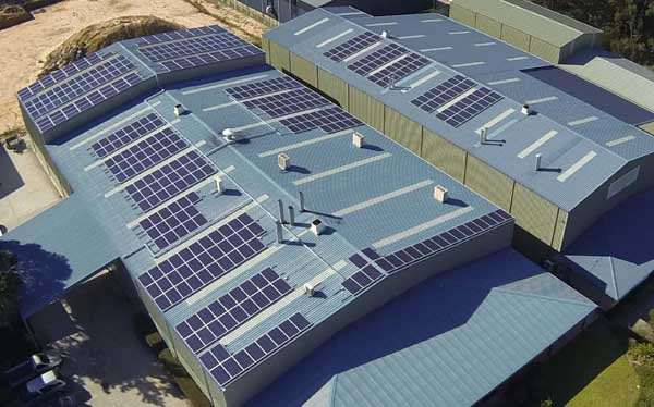 Commercial 100kW Solar System