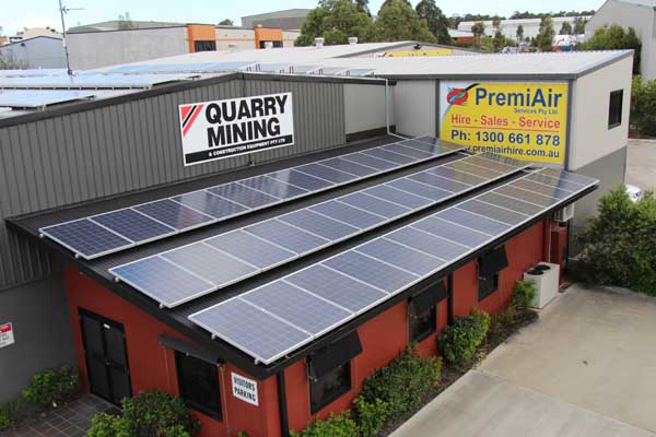 Commercial 50kW Solar System