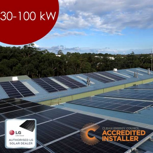Commercial Solar 30-100kw