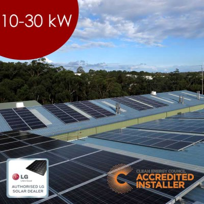 Commercial Solar 10 - 30kW