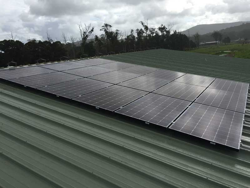 Alderley Creek Egg Farm Off Grid Solar