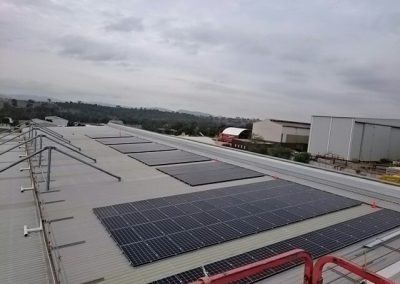 Hitachi 60kW Commercial Solar Power System