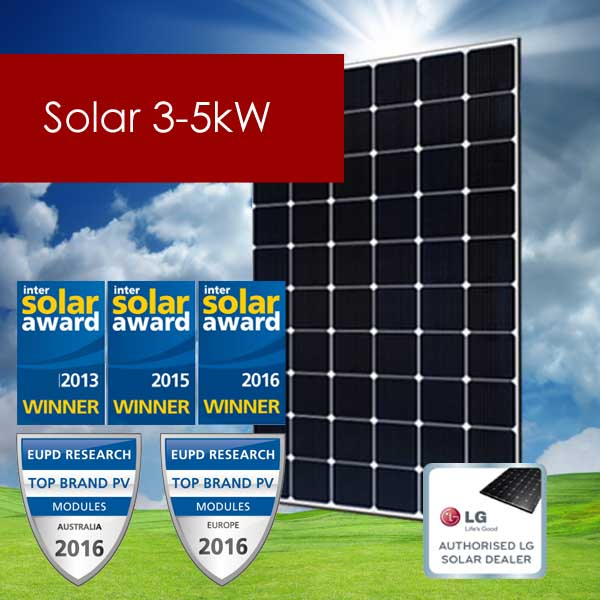 Residential Solar 3-5kW