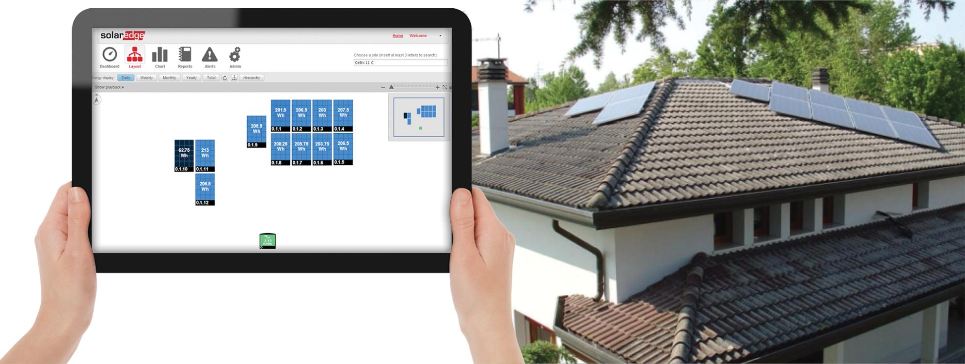 SolarEdge House-monitoring