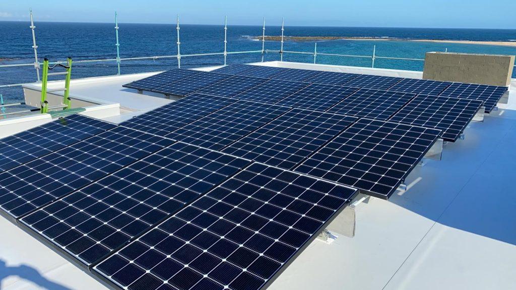Solar Blue bay