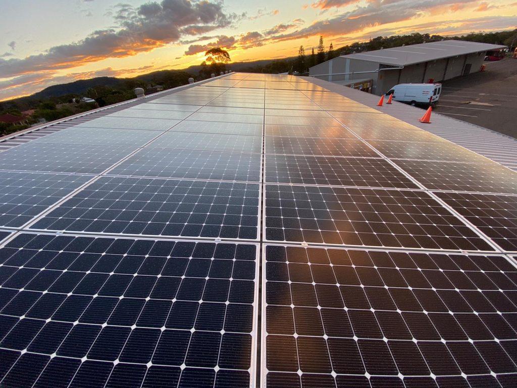 Solar Power Bateau Bay
