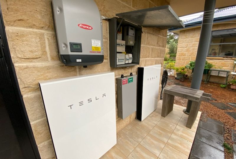 Combine batteries for increased solar power storage - Killcare Heights, Central Coast